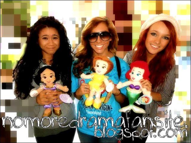 No More Drama = NMD = Ariel,Aliyah,Lorelei,Breanne,Kimi.  (Alissa,Camille)