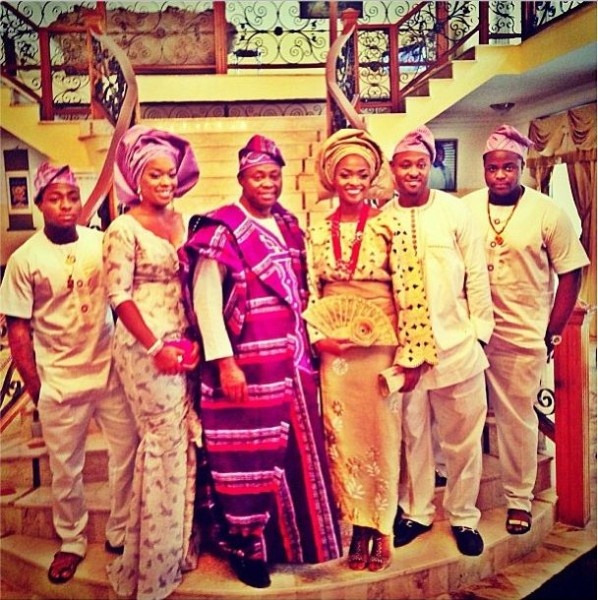 Wedding Photos Of Sharon Adeleke