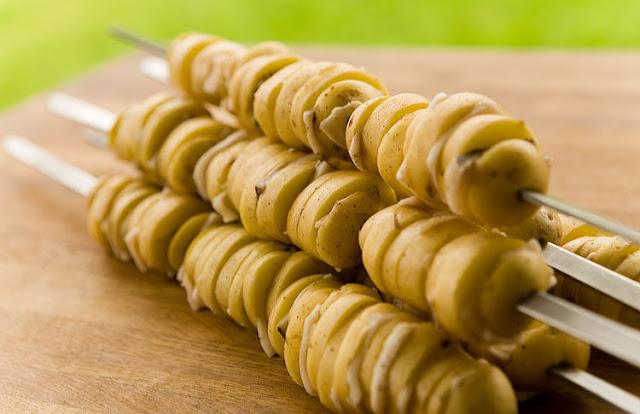 Картофельный кебаб