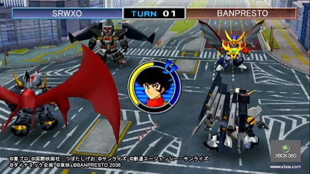 super robot wars xo