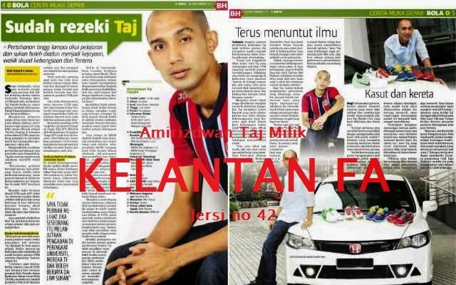 Amirizdwan Taj pemain baru Kelantan dari ATM