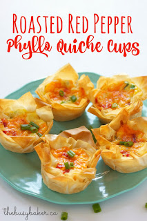 http://www.thebusybaker.ca/2015/12/roasted-red-pepper-phyllo-quiche-cups.html