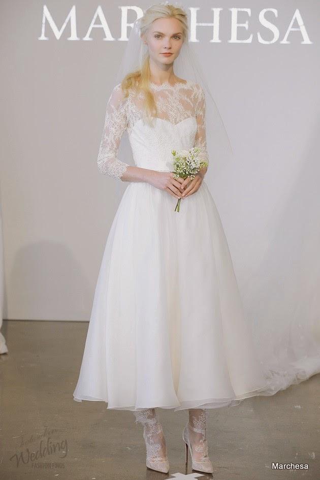 Three Quarter Sleeve Wedding Dress Dress With Three-quarter