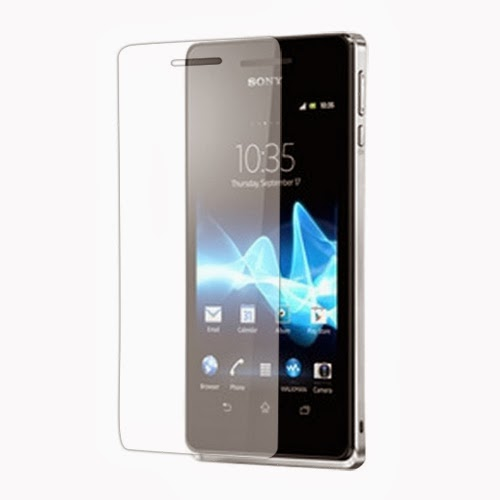 Clear LCD Screen Protector Guard Film for Sony Xperia V LT25i