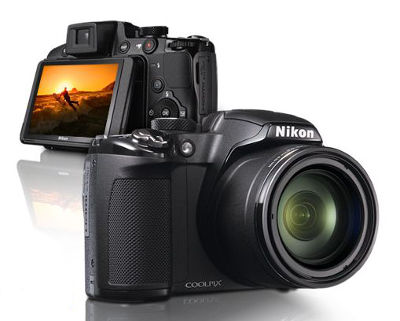 Nikon CoolPix 42x Wide-Angle Optical Zoom 1080p Full HD Digital Camera