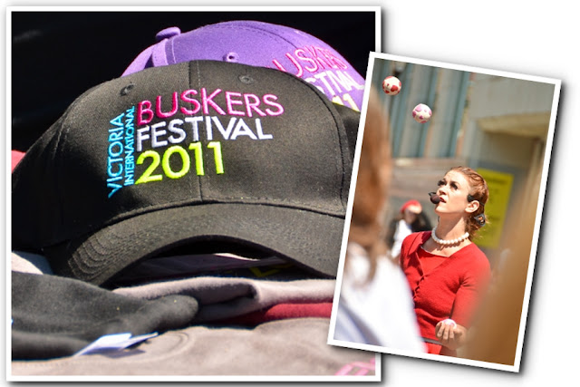 Victoria BC Tourism - Victoria International Buskers Festival Title