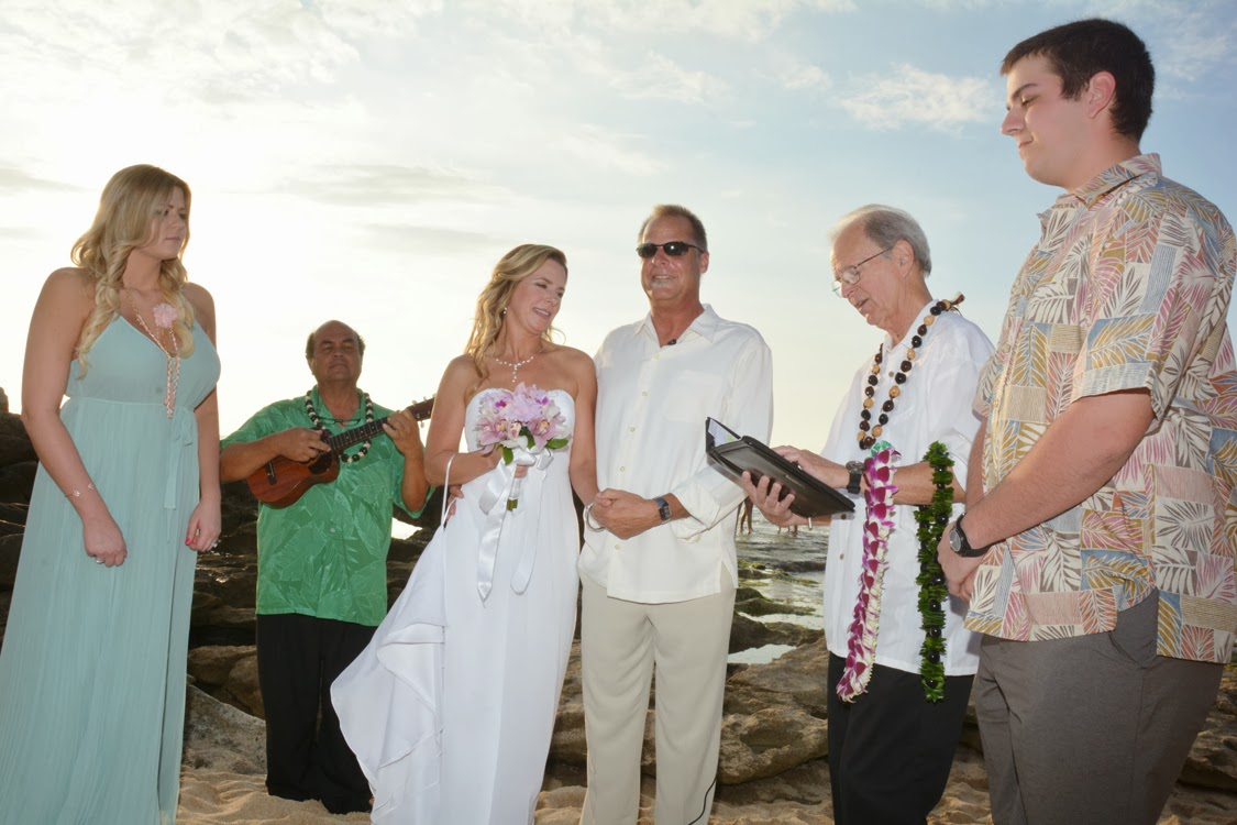 Wedding at Ko Olina