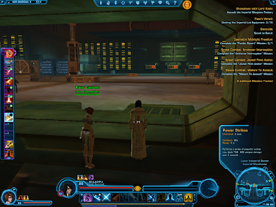 SWTOR - Companion Power Strikes Inactive