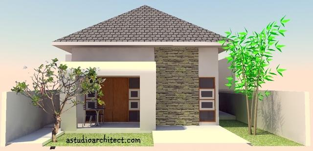 a desain gratis rumah diatas lahan 10x20m