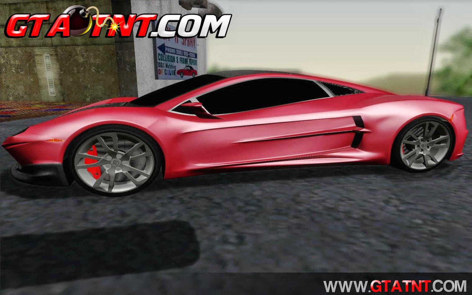 Shimmy Python 2012 para GTA San Andreas