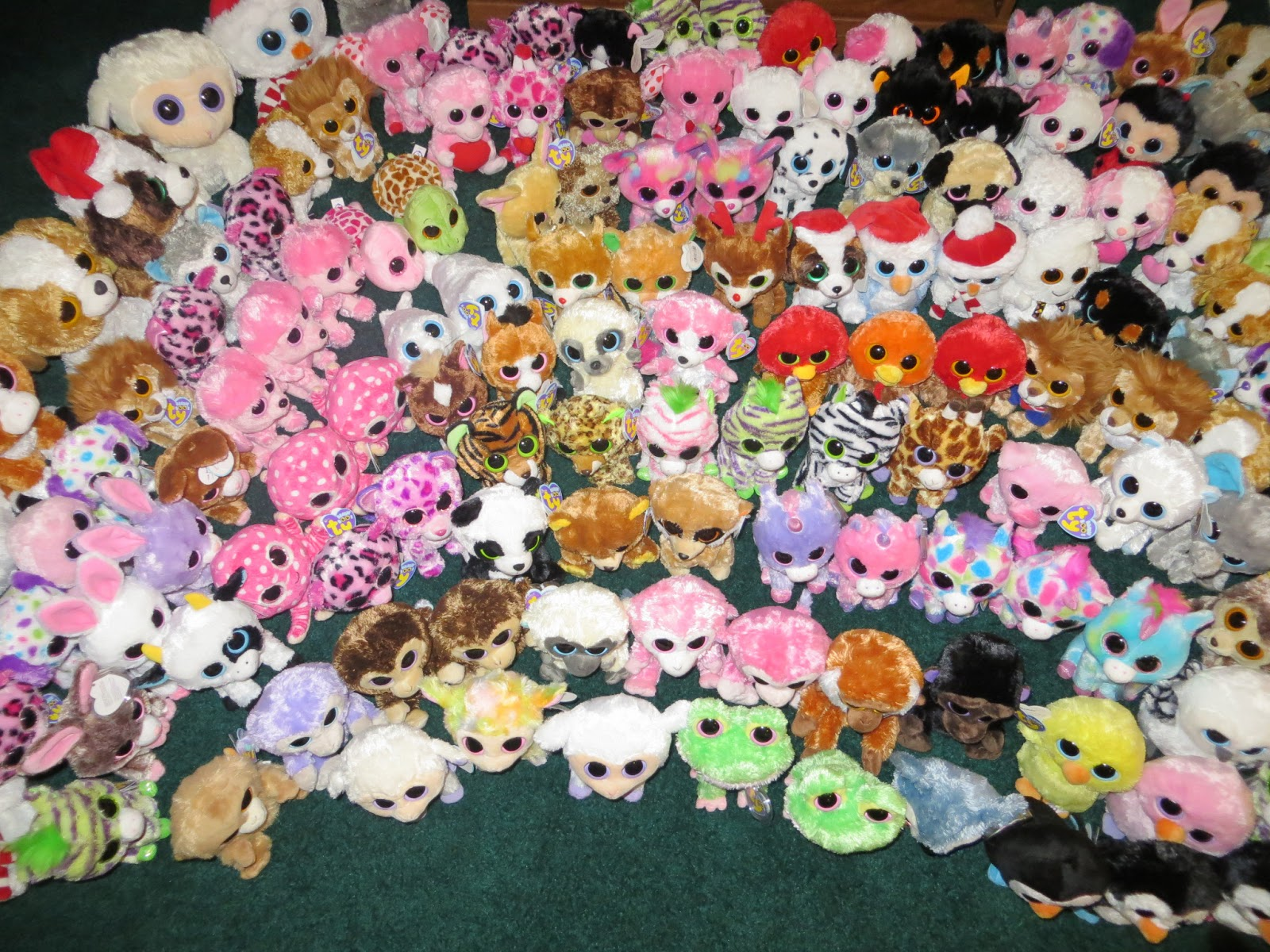 I m very excited to blog and share about my Ty Beanie Boos Collection.  These adorable toys was introduced to me by my two lovely daughters. dab77a693c8