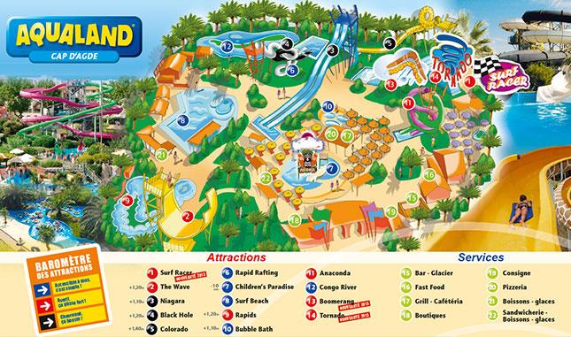 Parcplaza Net Une Dizaine De Nouveaut 233 S Pour Les Parcs Aqualand De France En 2013