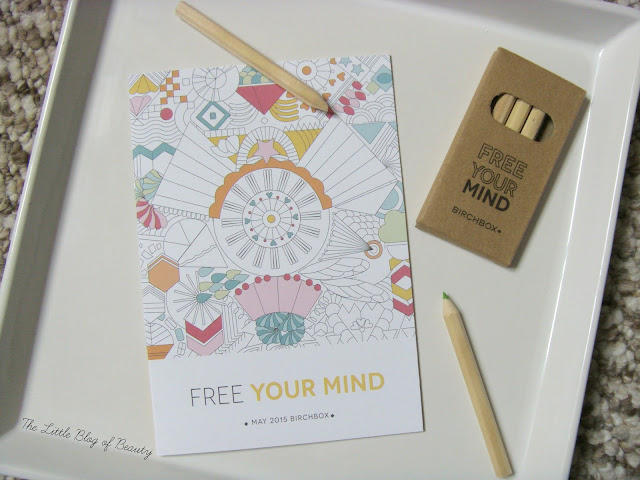 Birchbox May 2015 - Free your mind
