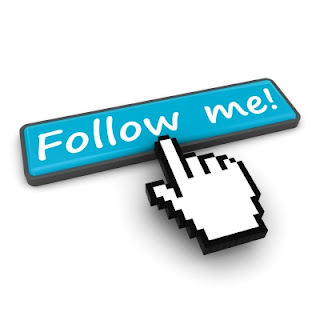 Follow Me Blue Button