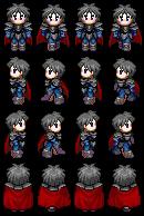 2D Character Spritesheet