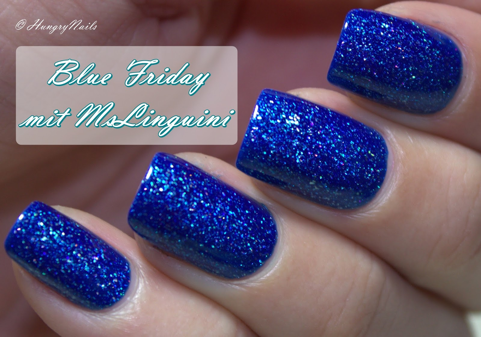 Blue Friday mit El Corazón Active- Bio-gel Color gel polish 423/502 Large Hologram Ocean
