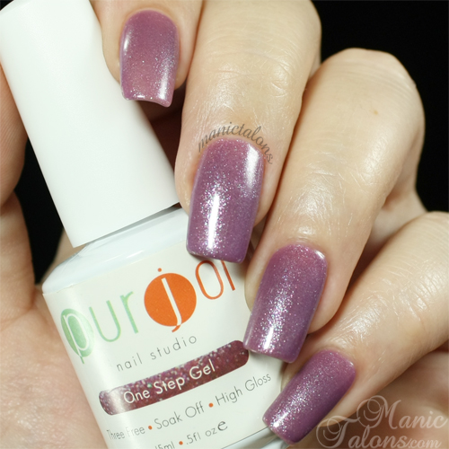 Purjoi One Step Gel Tip Toe Swatch