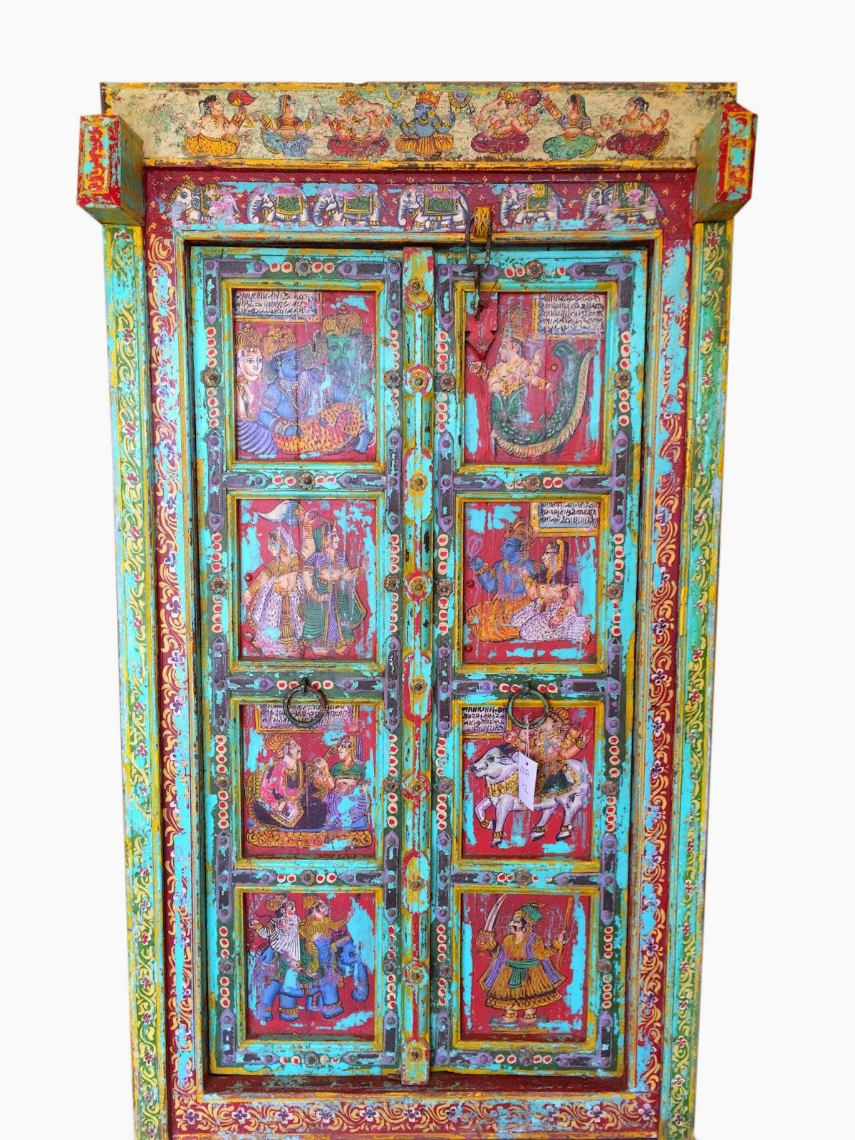 http://www.amazon.com/gp/product/B00PQ445FG - Indian Wooden Furnitures: Unique Historic Indian Antique Door #doors