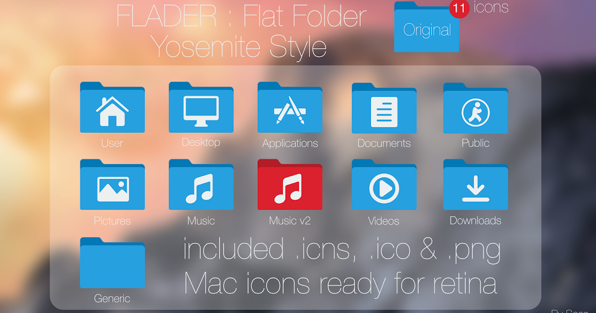 how to put a picture on a folder mac yosemite