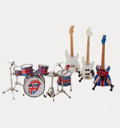 Instrumentos Musicales de los Rolling Stones