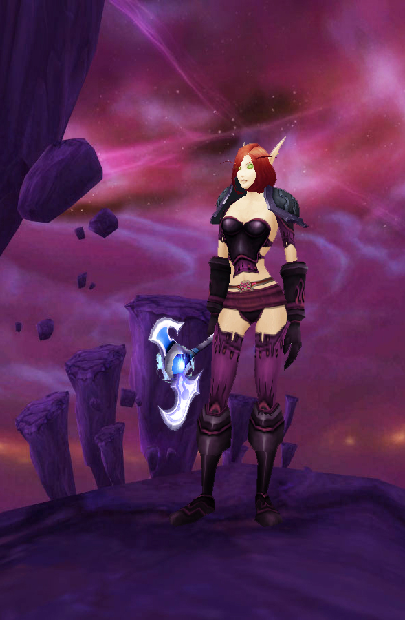 ... at the bottom of my posts and Iu0027m hoping for your feedback to help me see what kind of sets are you looking for and which ones were not satisfying ) & World of Warcraft transmogrification guide: Plate nether set for ...