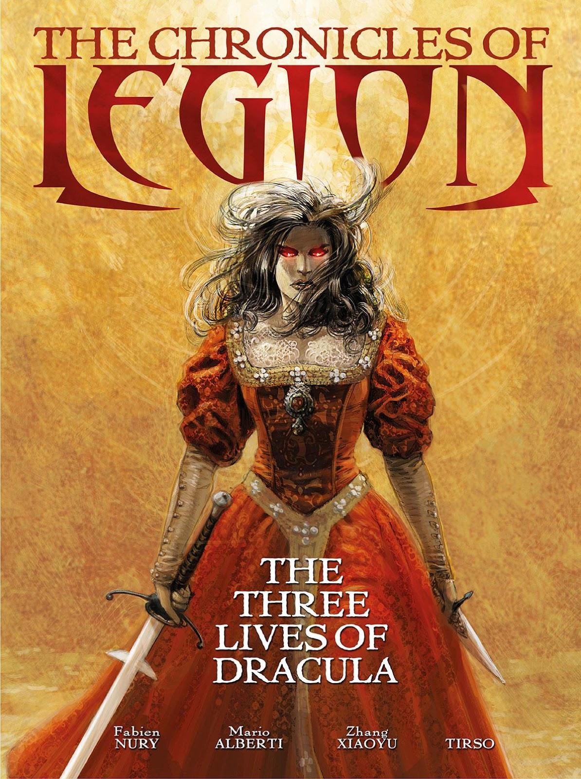 The chronicles of legion cover