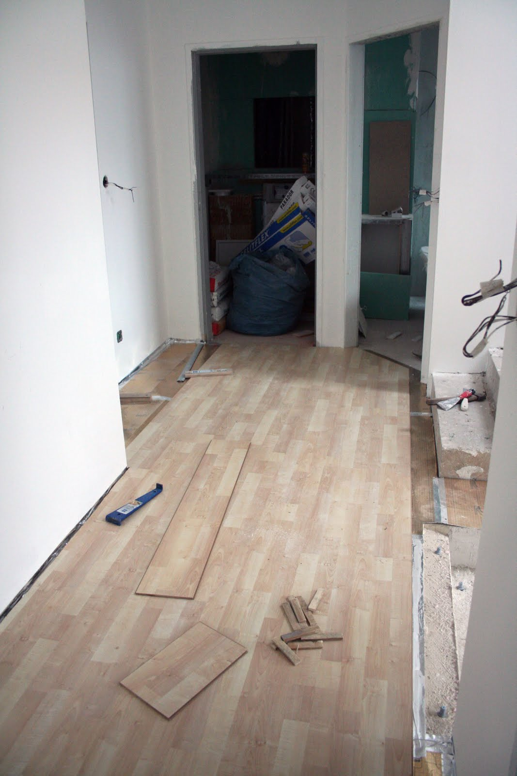Zieglers bauen Haus: Februar 2011