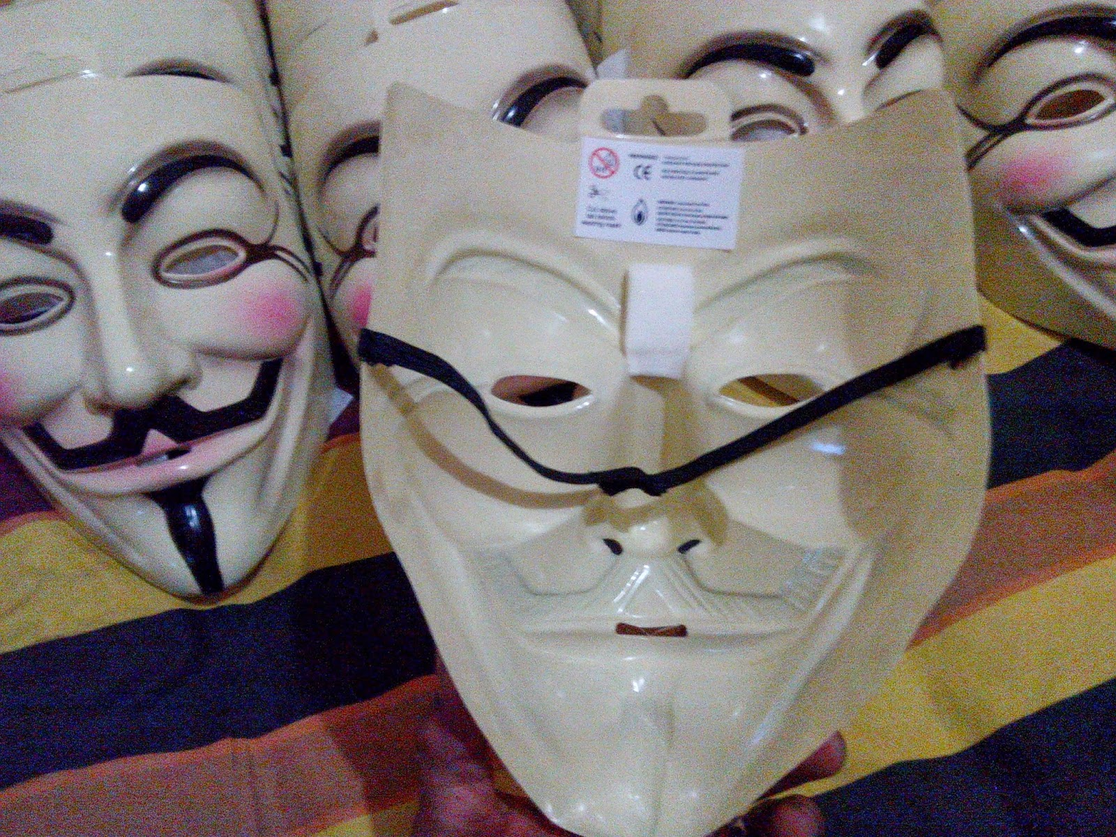 topeng Anonymous V For Vendetta Ori Denmark