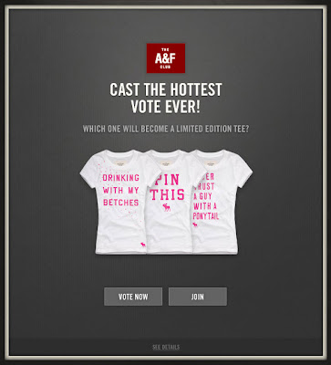 Nov. 6, 2012 Abercrombie & Fitch email