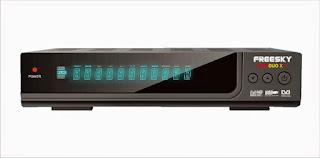 Atualizacao do receptor Freesky Freeduo X Plus V2.01