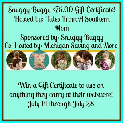 Snuggy Baby $75.00 Gift Certificate Giveaway