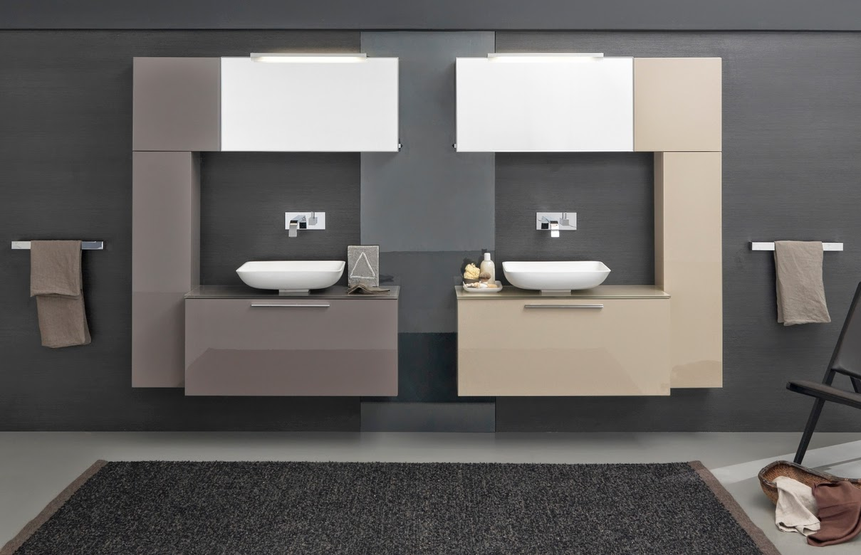 bagno con soluzioni personalizzate e il bagno diventa quasi come una ...