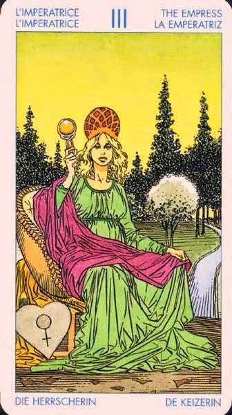 La Emperatriz. Tarot