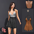 FINERAIN CREATIONS - LARA DRESS