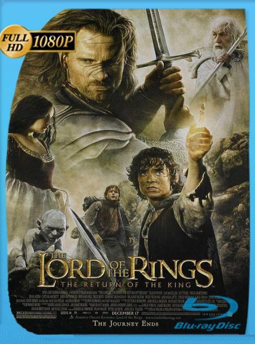 El Señor de los Anillos El Retorno del Rey Extended (2003) BRRip [1080p] [Latino] [GoogleDrive] [RangerRojo]