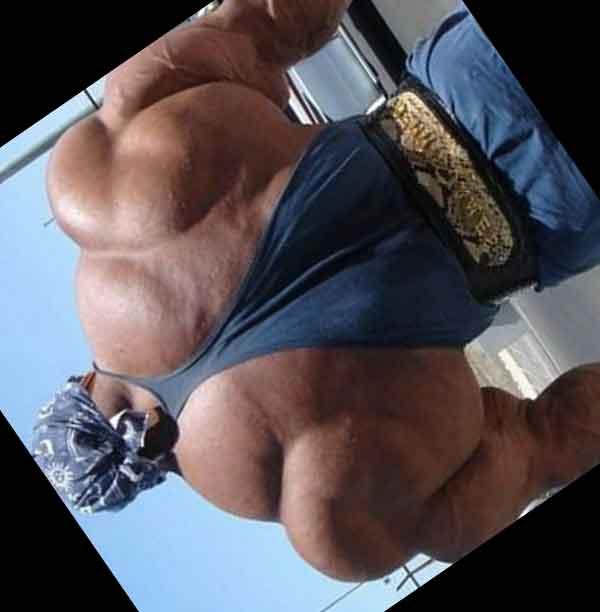Lelaki BEROTOT besar