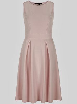Pink neoprene dress