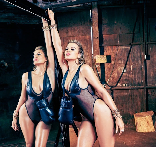 Khloe Kardashian goes sexy for Complex Magazine's August/September 2015 edition