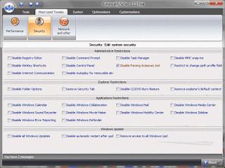 EnhanceMySe7en v3.7.1 : Software Tweaking untuk Windows 7 yang All in One