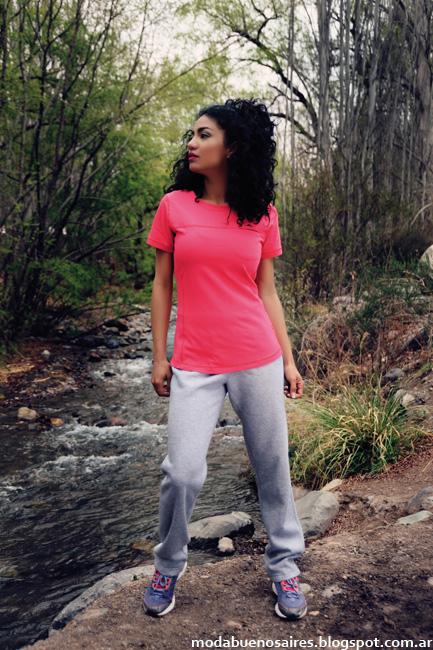 Pantalones rústico moda deportiva mujer Abyss otoño 2016.