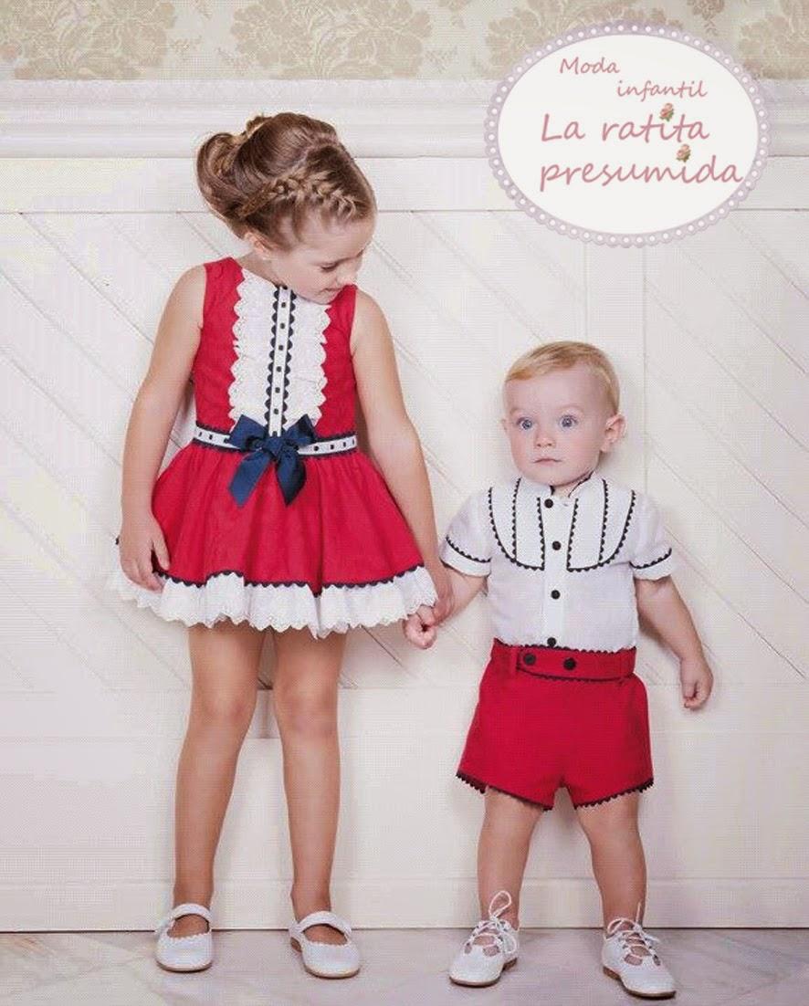 Moda para combinar hermanos, colección dolce petit