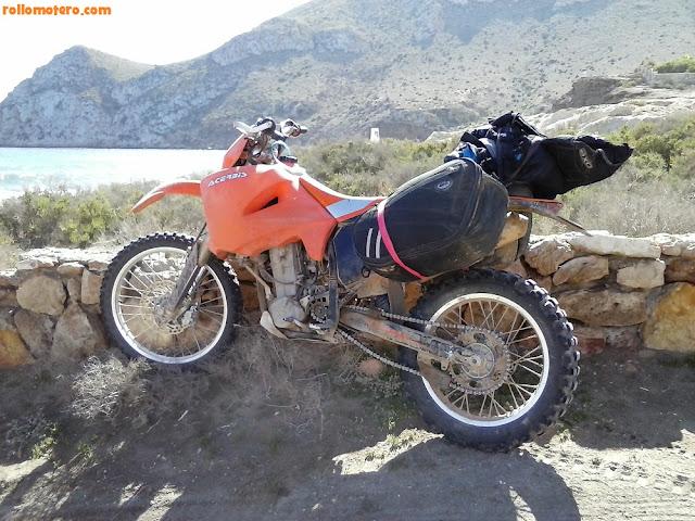 KTM 400 travel