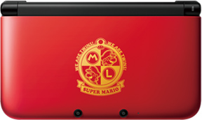 mario 3ds xl image 3 China   Mario Themed 3DS XLs Announced