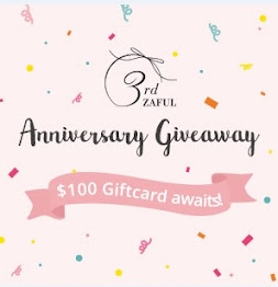 3rd Zaful Anniversary Giveaway