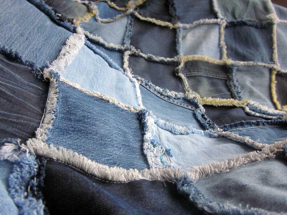 que faire avec vos vieux jeans au 303 home deco. Black Bedroom Furniture Sets. Home Design Ideas