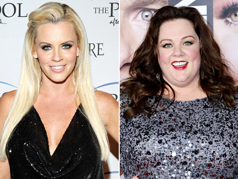 Melissa McCarthy and Jenny McCarthy are Cousins
