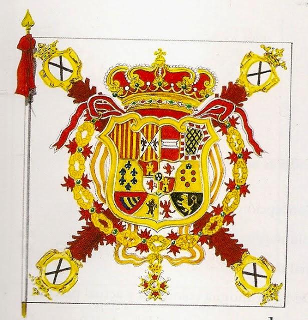 """Bandera del Regimiento de Infantería """"Cantabria"""""""
