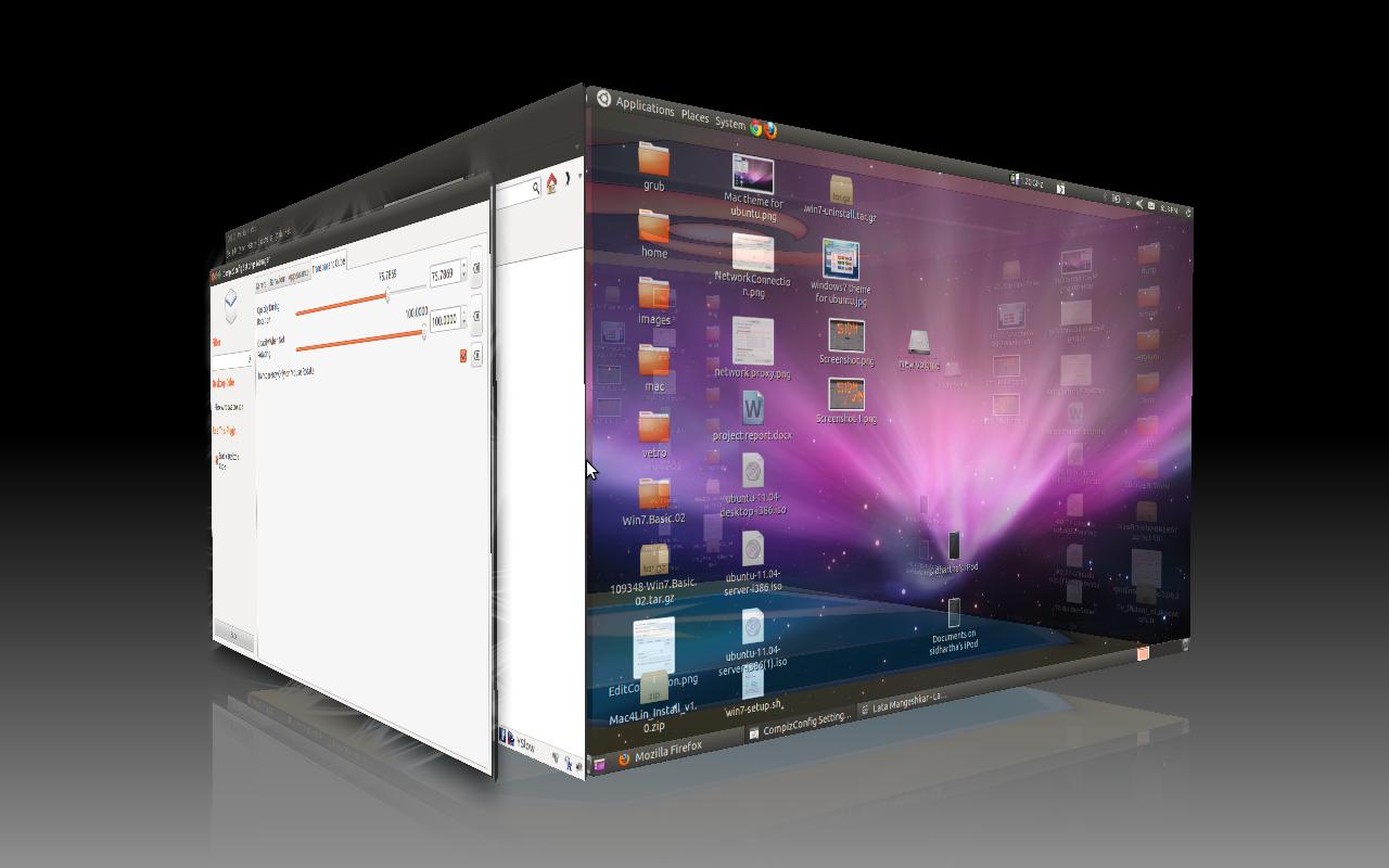 Ubuntu 3d Second plugin for other Ubuntu