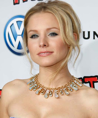 Kristen Bell Gold Gemstone Necklace