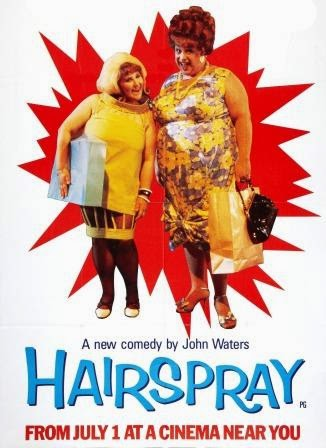 Hairspray, 1988, poster